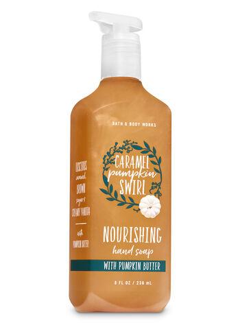 Caramel Pumpkin Swirl Hand Soap with Pumpkin Butter - Bath And Body Works