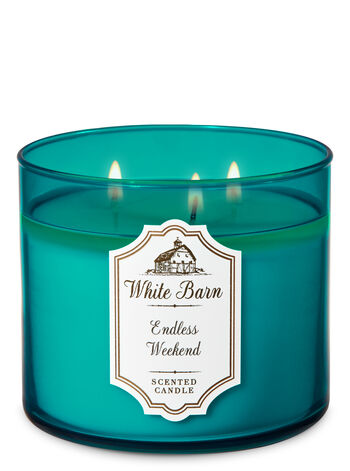 Endless Weekend 3-Wick Candle - Bath And Body Works