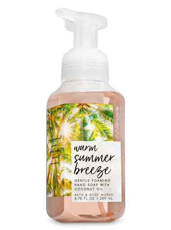 Warm Summer Breeze Gentle Foaming Hand Soap - Bath And Body Works