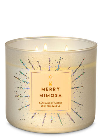 Merry Mimosa 3-Wick Candle - Bath And Body Works