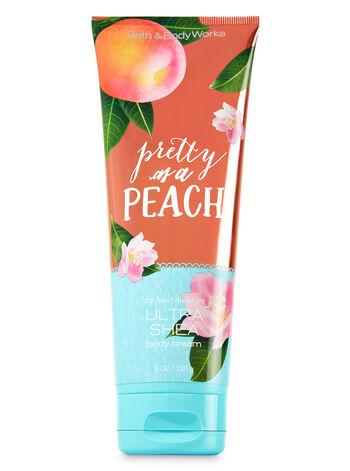 Signature Collection Pretty as a Peach Ultra Shea Body Cream - Bath And Body Works