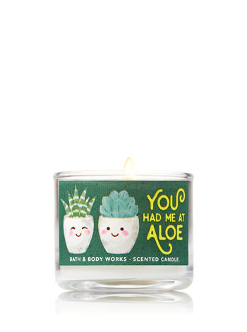 Wild Sage & Aloe Mini Candle - Bath And Body Works