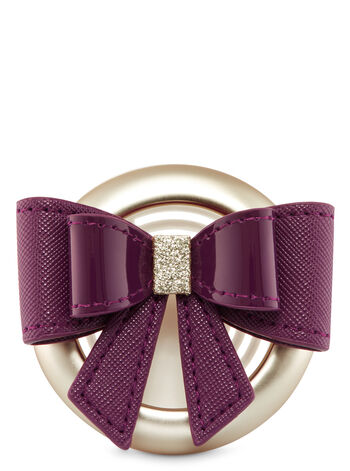 Girly Bow Vent Clip Scentportable Holder