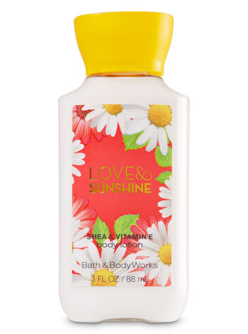 Signature Collection Love & Sunshine Travel Size Body Lotion - Bath And Body Works
