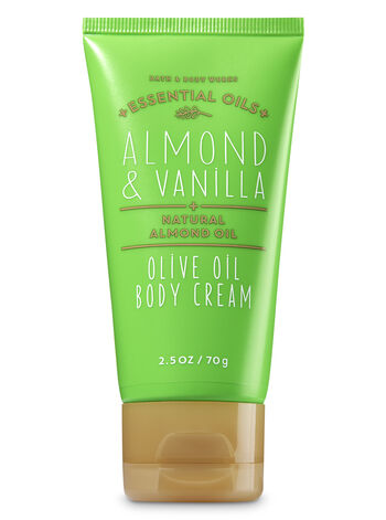 Almond & Vanilla Travel Size Body Cream - Bath And Body Works
