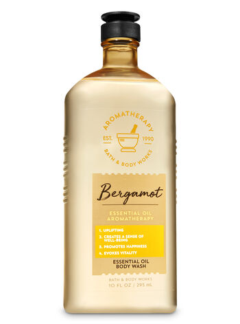 Aromatherapy Bergamot Essential Oil Body Wash - Bath And Body Works