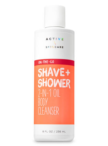 Signature Collection Shave & Shower 2-in-1 Oil Body Cleanser - Bath And Body Works