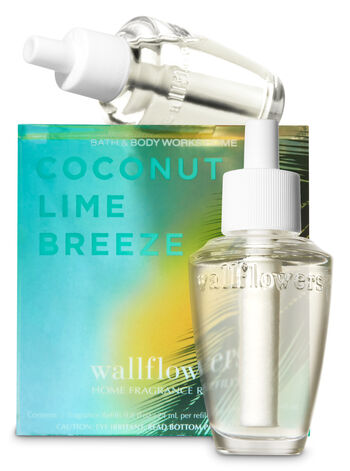 Coconut Lime Breeze Wallflowers Refills, 2-Pack - Bath And Body Works
