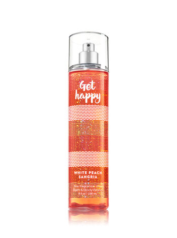 Signature Collection Get Happy - White Peach Sangria Fine Fragrance Mist - Bath And Body Works