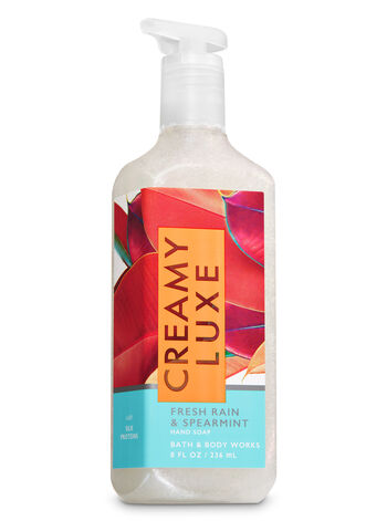 Fresh Rain & Spearmint Creamy Luxe Hand Soap - Bath And Body Works