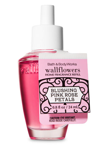 Blushing Pink Rose Petals Wallflowers Fragrance Refill - Bath And Body Works