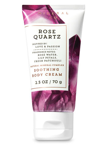 Signature Collection Rose Quartz Travel Size Body Cream - Bath And Body Works