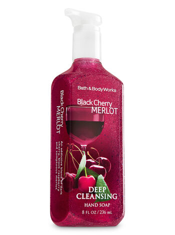 Black Cherry Merlot Deep Cleansing Hand Soap - Bath And Body Works