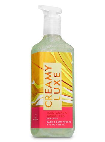 Iced Guava Green Tea Creamy Luxe Hand Soap - Bath And Body Works