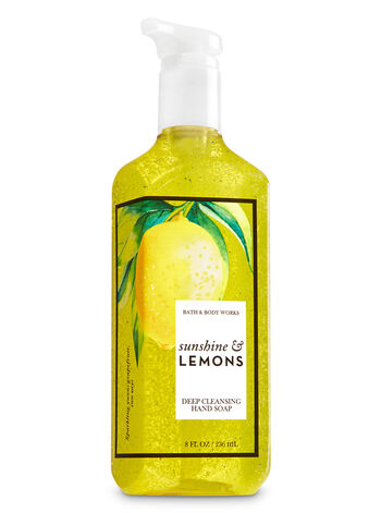 Sunshine & Lemons Deep Cleansing Hand Soap - Bath And Body Works