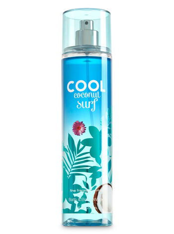 Signature Collection Cool Coconut Surf Fine Fragrance Mist - Bath And Body Works