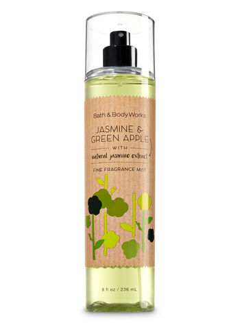 Signature Collection Jasmine & Green Apple Fine Fragrance Mist - Bath And Body Works