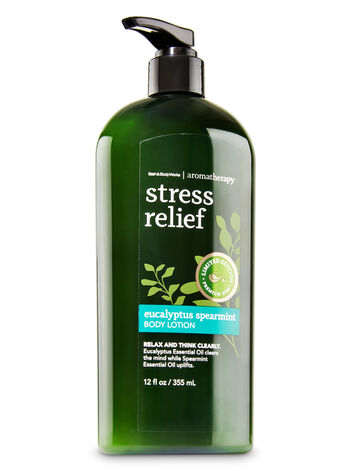 Aromatherapy Eucalyptus Spearmint Limited Edition Body Lotion - Bath And Body Works