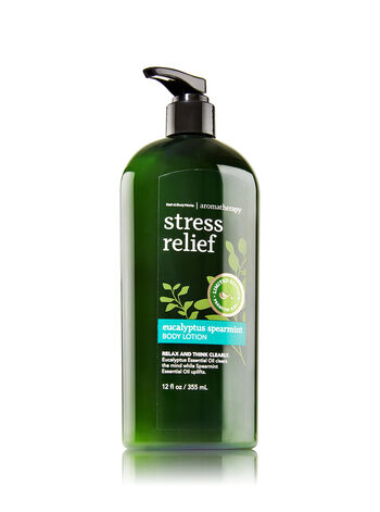 Aromatherapy Eucalyptus Spearmint Limited Edition Body Lotion - Bath And Body Works