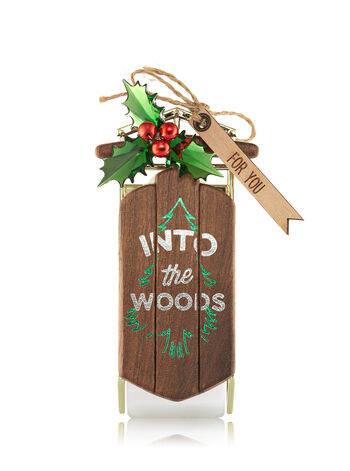 Into The Woods Sled Wallflowers Fragrance Plug