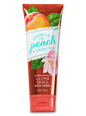 Signature Collection Georgia Peach Sweet Tea Body Cream - Bath And Body Works