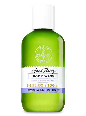Acai Berry Travel Size Body Wash - Bath And Body Works