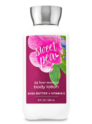 Signature Collection Sweet Pea Super Smooth Body Lotion - Bath And Body Works