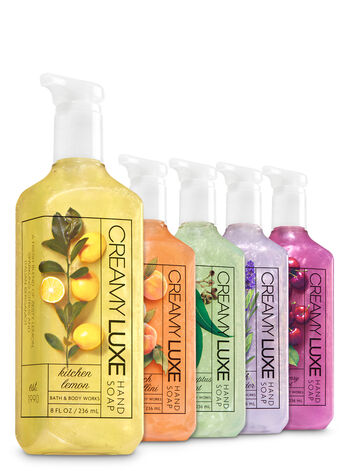 Creamy Luxe Favorites 5-Pack Creamy Luxe Hand Soap - Bath And Body Works