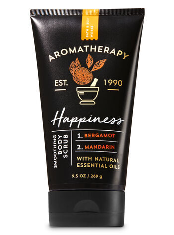 Aromatherapy Bergamot & Mandarin Smoothing Body Scrub - Bath And Body Works