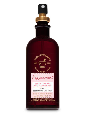 Peppermint 5-in-1 Essential Oil Mist - Bath And Body Works