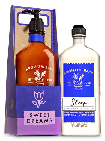 Aromatherapy Sleep - Lavender & Cedarwood Sweet Dreams Gift Set - Bath And Body Works