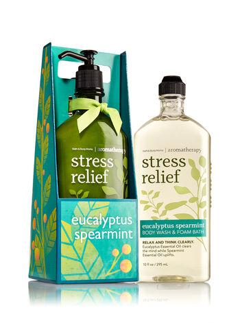 Aromatherapy Eucalyptus Spearmint Lather & Lotion Gift Set - Bath And Body Works