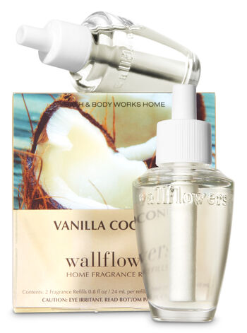 Vanilla Coconut Wallflowers Refills, 2-Pack - Bath And Body Works