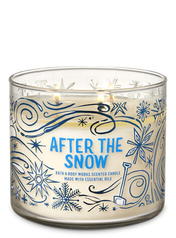 After the Snow 3-Wick Candle - Bath And Body Works