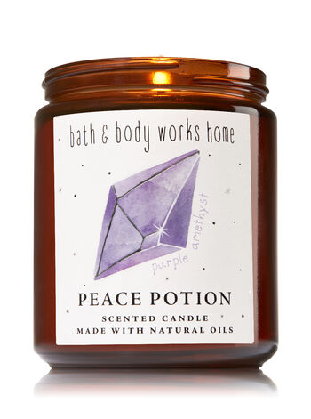 Dark Amethyst & Musk Single Wick Candle