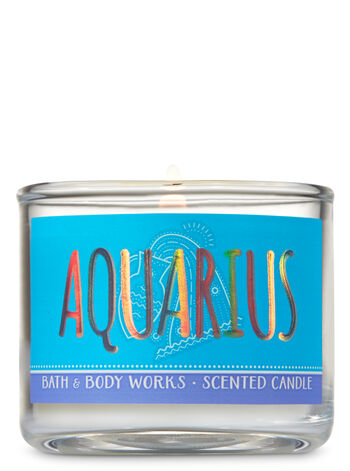 Aquarius Eucalyptus Rain Mini Candle