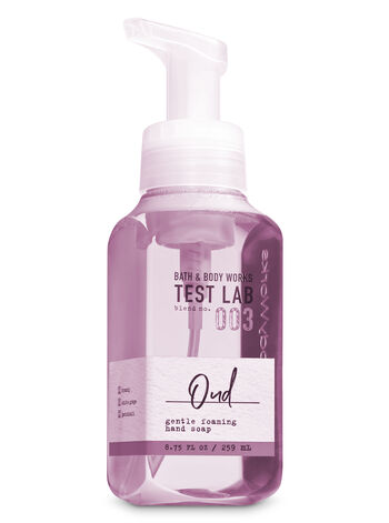 Bath & Body Works Test Lab Blend No. 003 Oud Gentle Foaming Hand Soap - Bath And Body Works