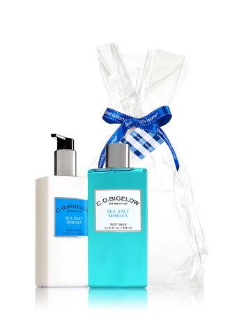 Sea Salt Mimosa C.O. Bigelow Essentials Gift Kit - Bath And Body Works