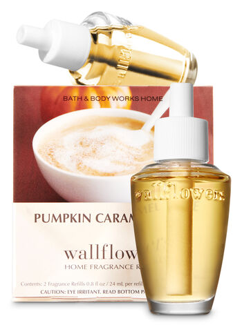 Pumpkin Caramel Latte Wallflowers 2-Pack Refills - Bath And Body Works