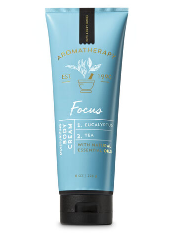 Aromatherapy Focus - Eucalyptus & Tea Body Cream - Bath And Body Works