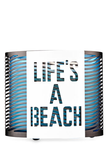 Life's a Beach 3-Wick Candle Holder