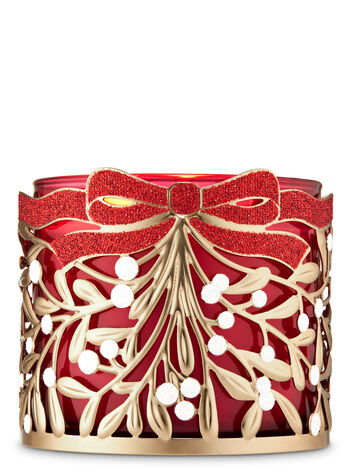Mistletoe 3-Wick Candle Holder - Bath And Body Works