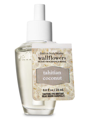 Tahitian Coconut Wallflowers Fragrance Refill - Bath And Body Works