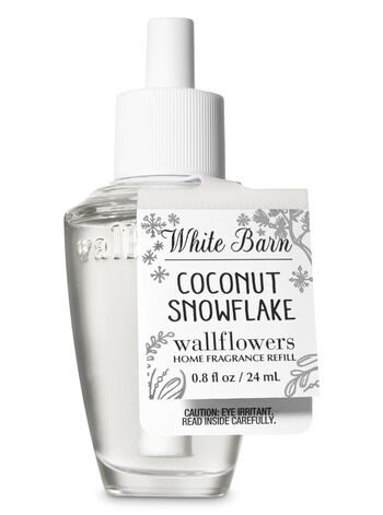 Coconut Snowflake Wallflowers Fragrance Refill - Bath And Body Works