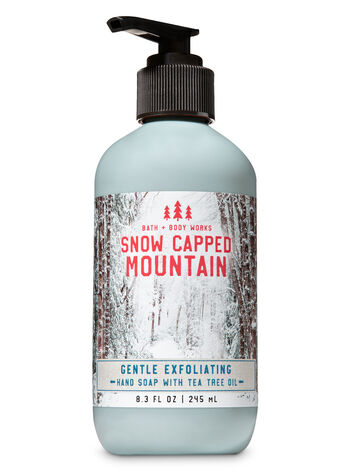 Snow Capped Mountain Gentle Exfoliating Hand Soap - Bath And Body Works