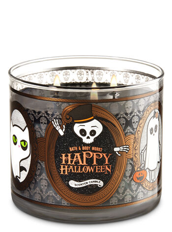 Sweet Cinnamon Pumpkin With Spider Web Lid 3-Wick Candle - Bath And Body Works