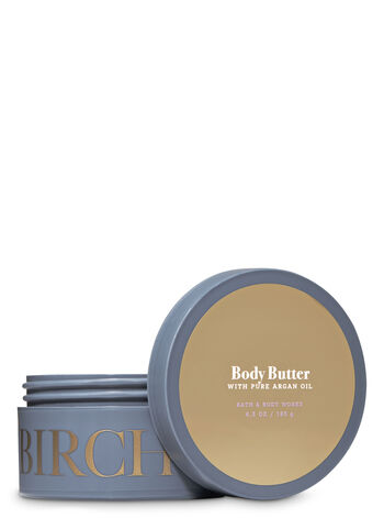 Birch & Argan Body Butter - Bath And Body Works