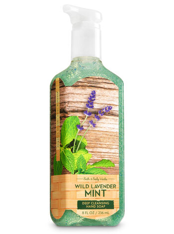 Wild Lavender Mint Deep Cleansing Hand Soap - Bath And Body Works