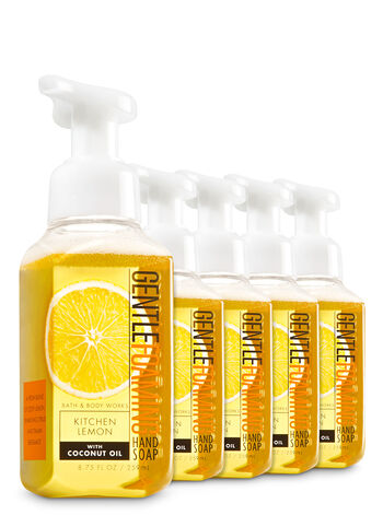 Kitchen Lemon Gentle Foaming Hand Soap, 5-Pack - Bath And Body Works