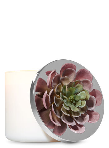 Red & Green Succulent 3-Wick Candle Magnet - Bath And Body Works